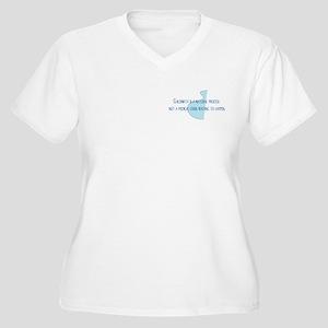 Natural ChildbirtWomen's Plus Size V-Neck T-Shirt