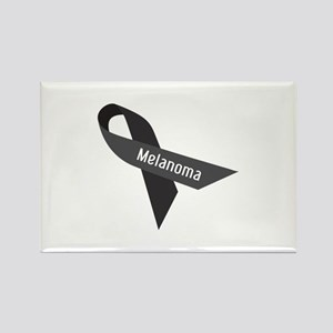 Melanoma Ribbon Magnets