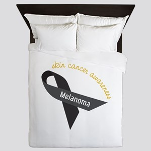 Skin Cancer Awareness Queen Duvet