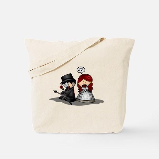 Cute Phantom of the opera angel of music Tote Bag