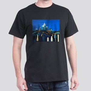 Moskau bei Nacht T-Shirt