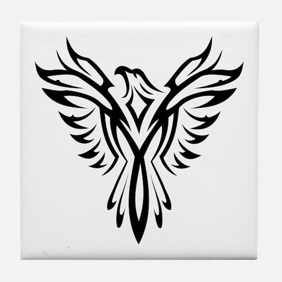 Cute T bird mens Tile Coaster