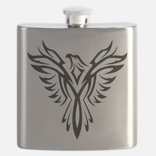 Cute T bird mens Flask