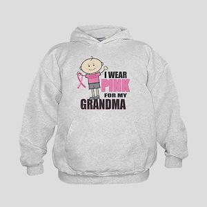 I Wear Pink Grandson Hoodie