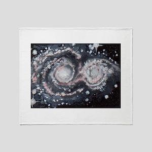 Whirlpool-Galaxie Throw Blanket