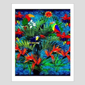 Rain Forest Fantasy Small Poster