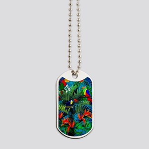 Rain Forest Fantasy Dog Tags