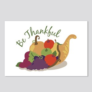 Be Thankful Postcards (Package of 8)