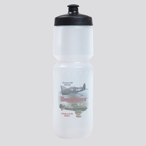 Dogfighters: F6F vs Ki-84 Sports Bottle