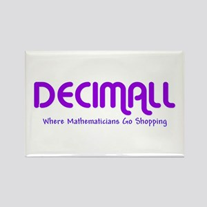 Decimall Mathematicians Shop Rectangle Magnet