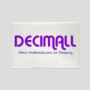 Decimall Mathematicians Shop Rectangle Magnet