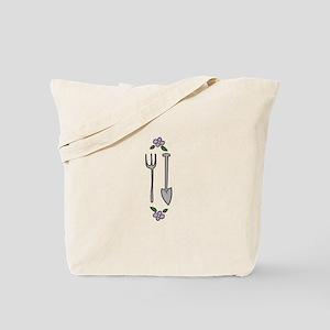 Gardening Tools Spade Rake Tote Bag
