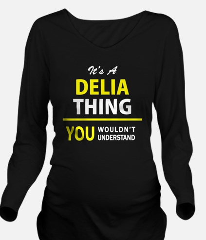 Cool Delia Long Sleeve Maternity T-Shirt