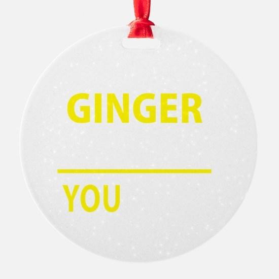 Cute Ginger Ornament