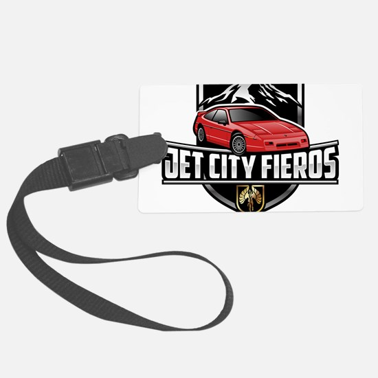 Red GT Luggage Tag