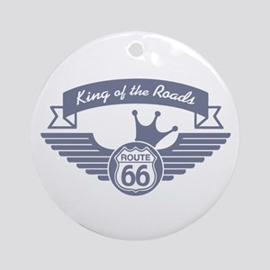 King of the Roads Ornament (Round)