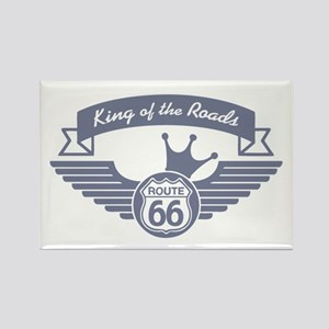 King of the Roads Rectangle Magnet