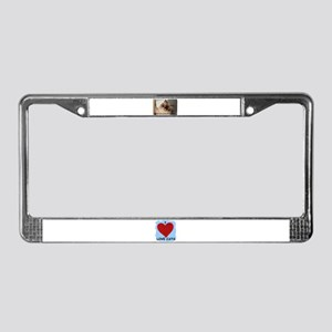 I CAN BE NAUGHTY OR NICE License Plate Frame