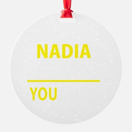 Cute Nadia Ornament