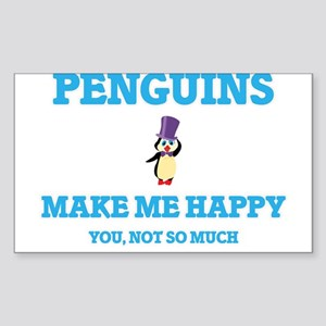 Penguins Make Me Happy Sticker