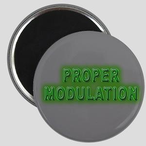 Proper Modulation Magnet