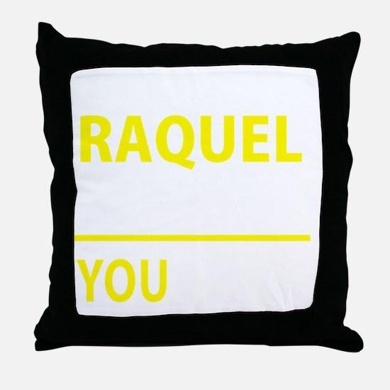 Cute Raquel Throw Pillow