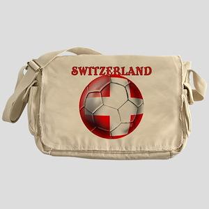 Switzerland Soccer Messenger Bag