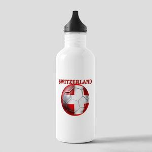 Switzerland Soccer Stainless Water Bottle 1.0L
