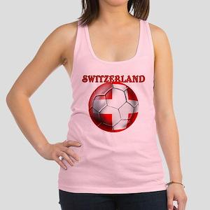 Switzerland Soccer Racerback Tank Top