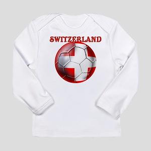 Switzerland Soccer Long Sleeve Infant T-Shirt
