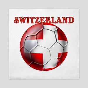Switzerland Soccer Queen Duvet