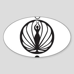 Dancer Logo Oval Sticker