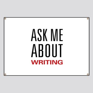 Writing - Ask Me About Banner