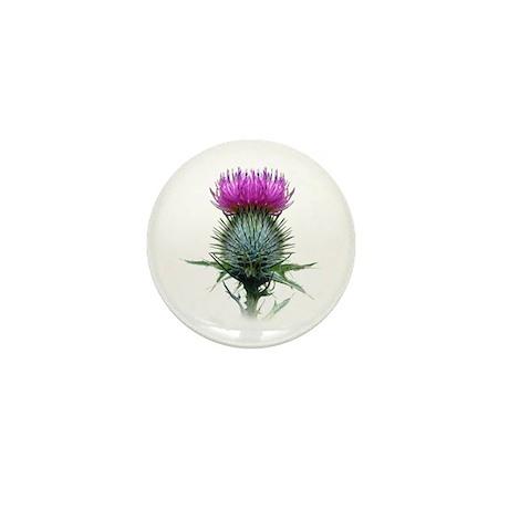 Flower of Scotland Mini Button
