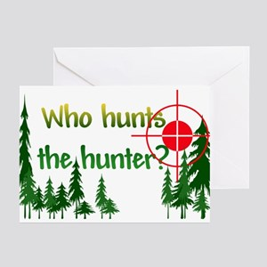 Who Hunts the Hunter Greeting Cards (Pk of 10)