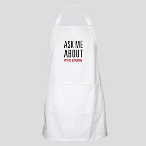 Ask Me About Wind Energy BBQ Apron