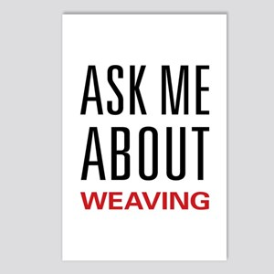 Ask Me About Weaving Postcards (Package of 8)