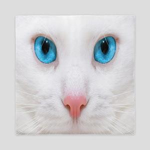 White Cat Queen Duvet