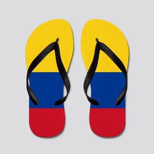 Flag of Colombia Flip Flops