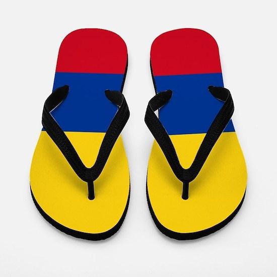 Flag of Colombia Flip Flops