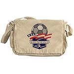 Custom USA Soccer Messenger Bag
