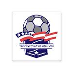 Custom USA Soccer Sticker