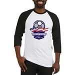Custom USA Soccer Baseball Jersey