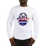 Custom USA Soccer Long Sleeve T-Shirt