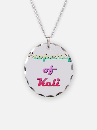 Property Of Keli Female Necklace