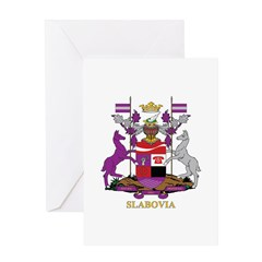 Slabovia Greeting Cards