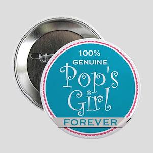 """100% Pop's Girl 2.25"""" Button"""