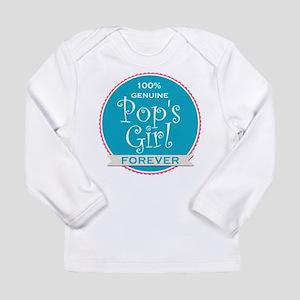 100% Pop's Girl Long Sleeve Infant T-Shirt