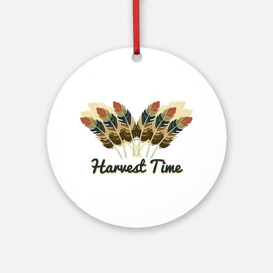 Harvest Time Ornament (Round)