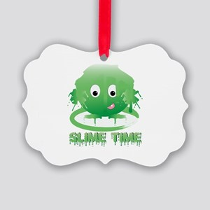 Slime Time Ornament